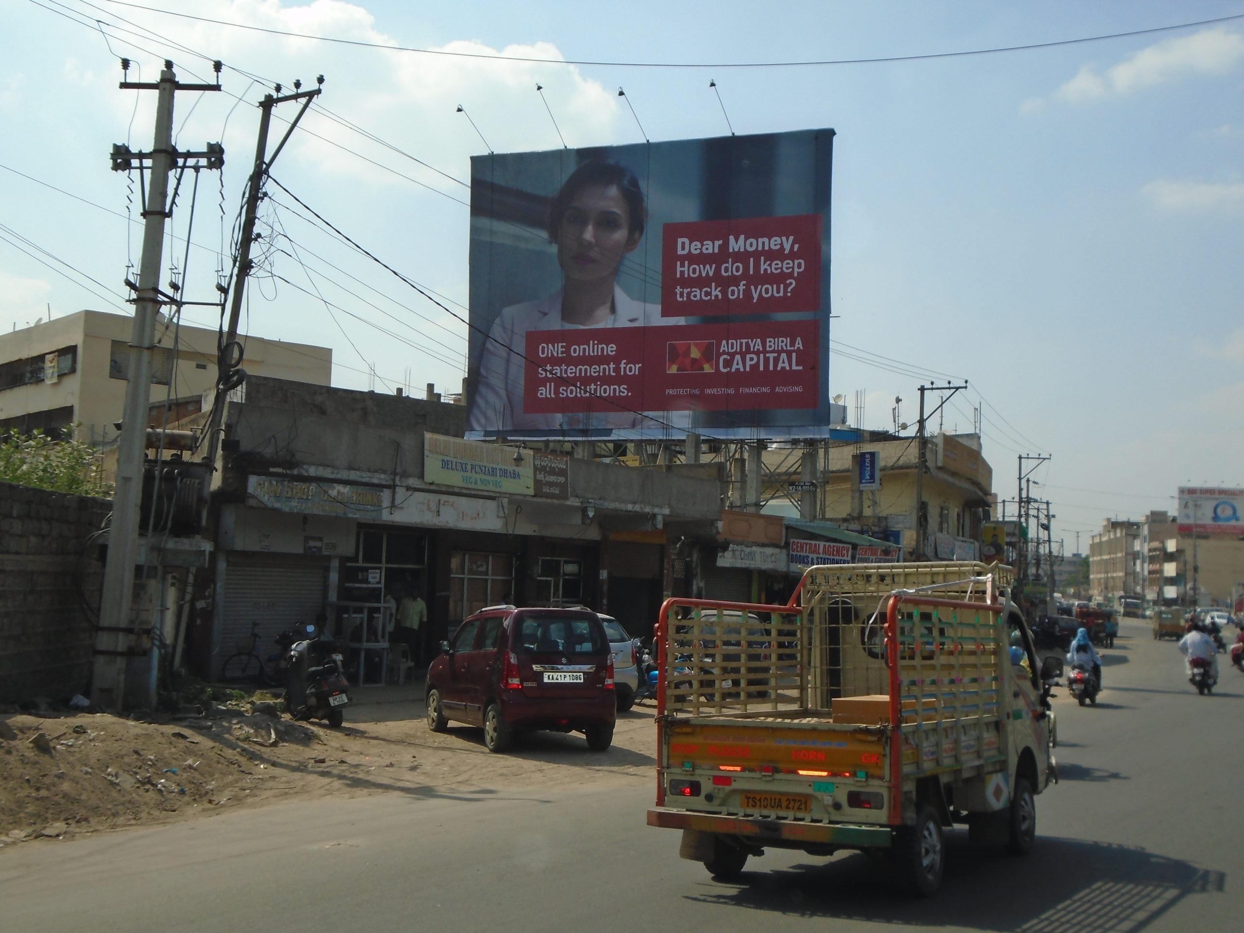 Ikar billboard for Aditya Birla