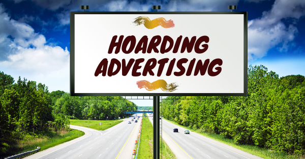 hoarding advertising by ikar